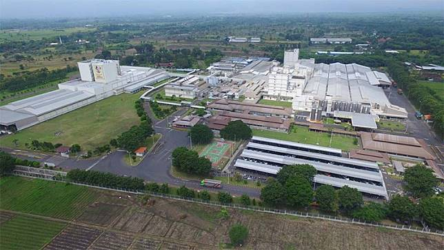 A PT Nestlé Indonesia factory in Karawang West Java. The company recently expanded its factories in Karawang, West Java; Kejayan, East Java; and Bandar Lampung, Lampung, with an investment of $100 million (Rp 14 trillion).