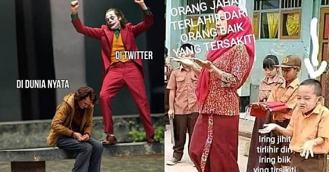 10 Meme Joker Ini Absurdnya Bikin Tepuk Jidat