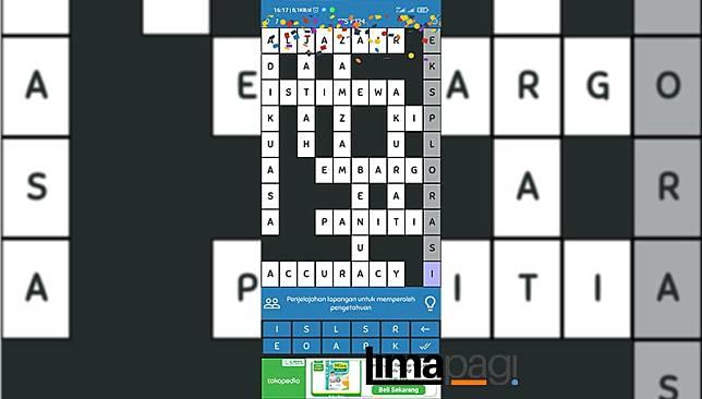 kunci jawaban tts pintar level 124