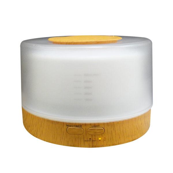 【HU-18】水氧機 加濕器 香薰機【木紋-附遙控器】空氣淨化器 空氣清淨機 無印良品 擴香機