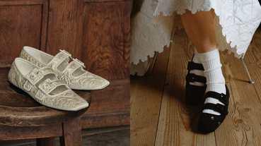 嫌上班平底鞋太老派?小CK這雙聯黑包鞋超夢幻!讓OL下班約會也能穿!