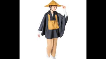 修道人風格防水雨衣