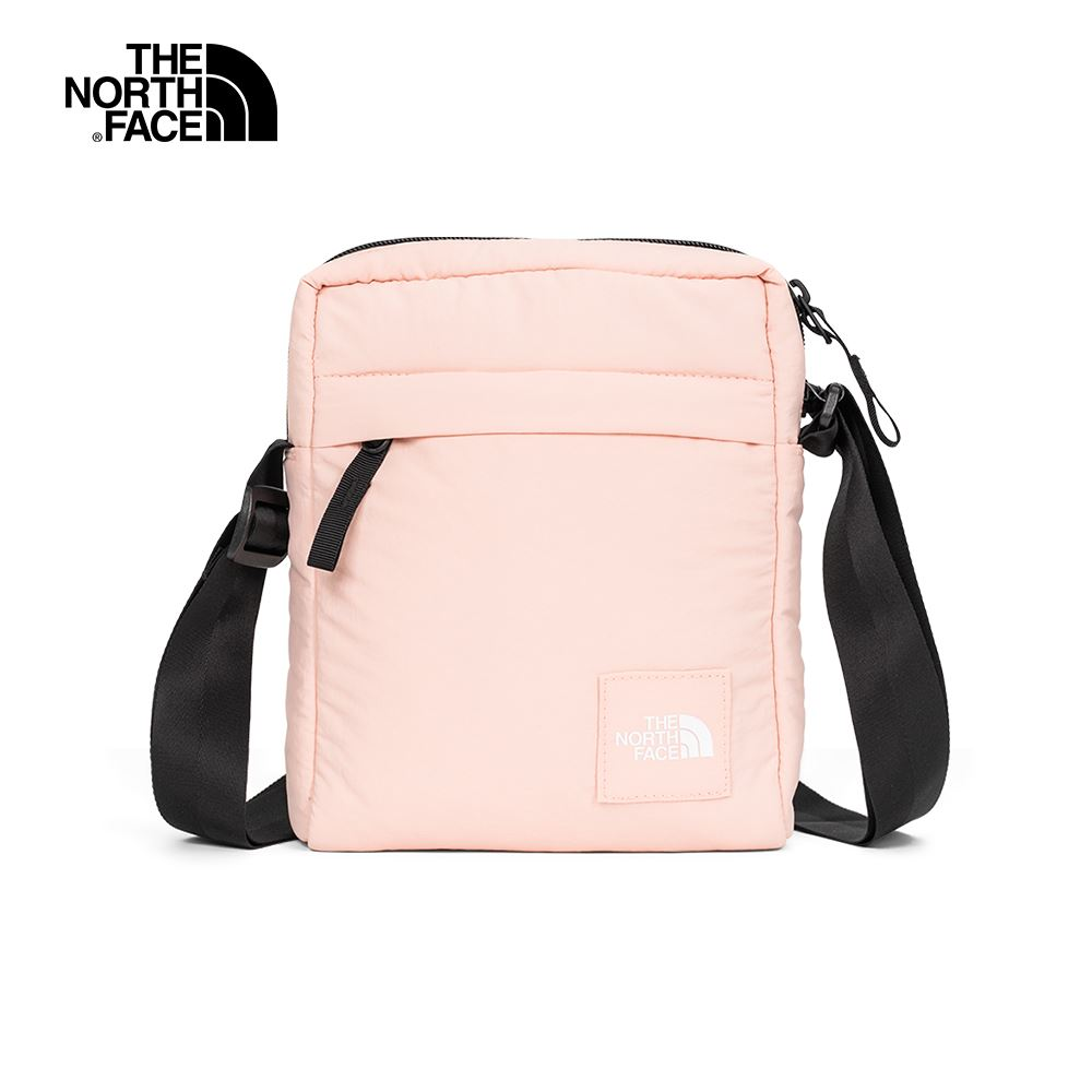 The North Face北面男女款粉色輕巧休閒單肩包|3VXQYXK