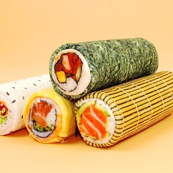 韓國童趣可愛飯團君學生筆袋仿真壽司零錢包創意搞怪文具盒文具袋