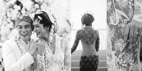 Foto Detail Kebaya Akad Nikah Paula Verhoeven Simpel Elegan