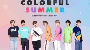 阿米們學起來!BTS 親自示範夏日穿搭,FILA 最新聯名系列超生火