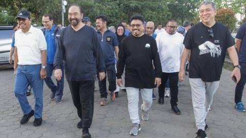 Surya Paloh: Trotoar di Makassar Paling Jelek, Jakarta Lebih Baik