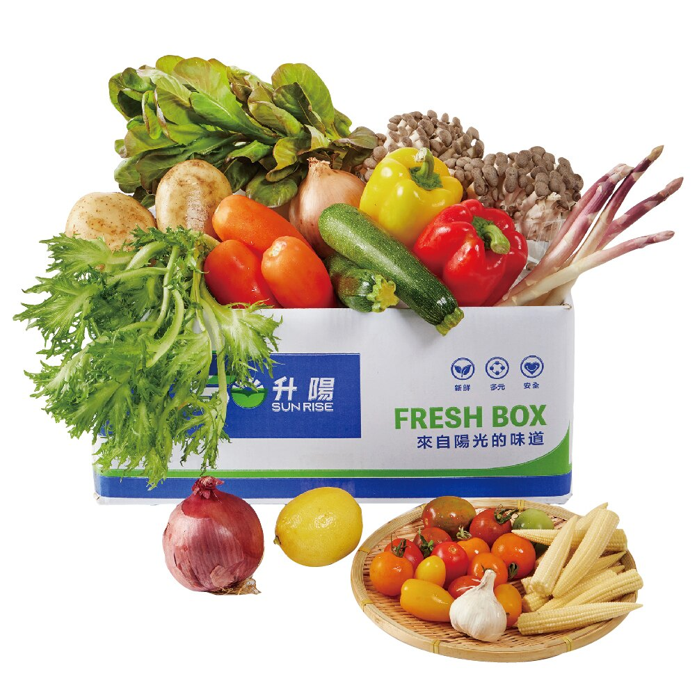 升陽 蔬菜箱 15品項/箱