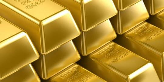 Harga Emas Turun Rp 3000 Jadi Rp 673000 Per Gram