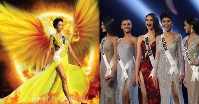 Tua chậm góc máy tỏa sáng của H'Hen Niê phá vỡ lời nguyền '10 năm' tại Miss Universe