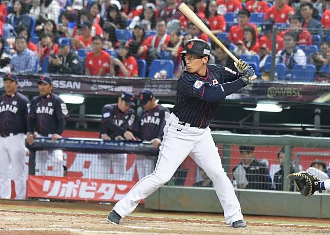 ▲世界棒球12強日本隊外野手吉田正尚。(圖/記者葉政勳