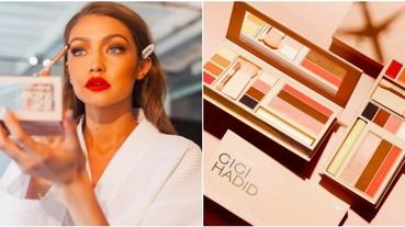 第一波上架的 Gigi Hadid x Maybelline 限量彩妝組合,極速於 90 分鐘內完售
