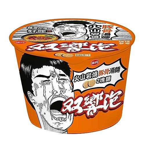 ★台灣泡麵三大品牌★兩塊麵加上雙響泡內贈盛香珍蒜香青豆酥★不只是兩樣吃法雙食絕配
