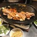 サムギョプサル - 実際訪問したユーザーが直接撮影して投稿した大久保韓国料理とんちゃん 新大久保店の写真のメニュー情報