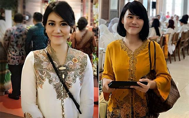 5 Pesona Sandhyca Putrie Berkebaya, Ajudan Iriana Jokowi yang Cantiknya Kebangetan!