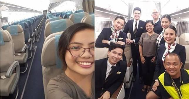 Berasa Nyewa Jet Pribadi, Wanita Ini Beruntung Banget karena Menjadi Satu-Satunya Penumpang dalam Pesawat