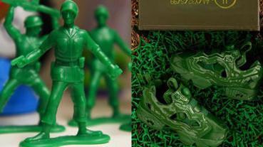 BAIT x Reebok《玩具總動員》聯名彩蛋釋出!限量「綠色小兵」版本入手只有一條件