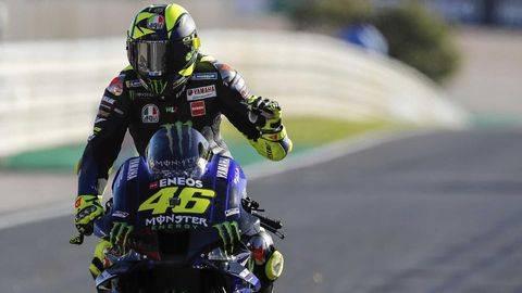 MotoGP Spanyol bisa jadi kebangkitan atau titik nadir Valentino Rossi. (AP/Armando Franca)