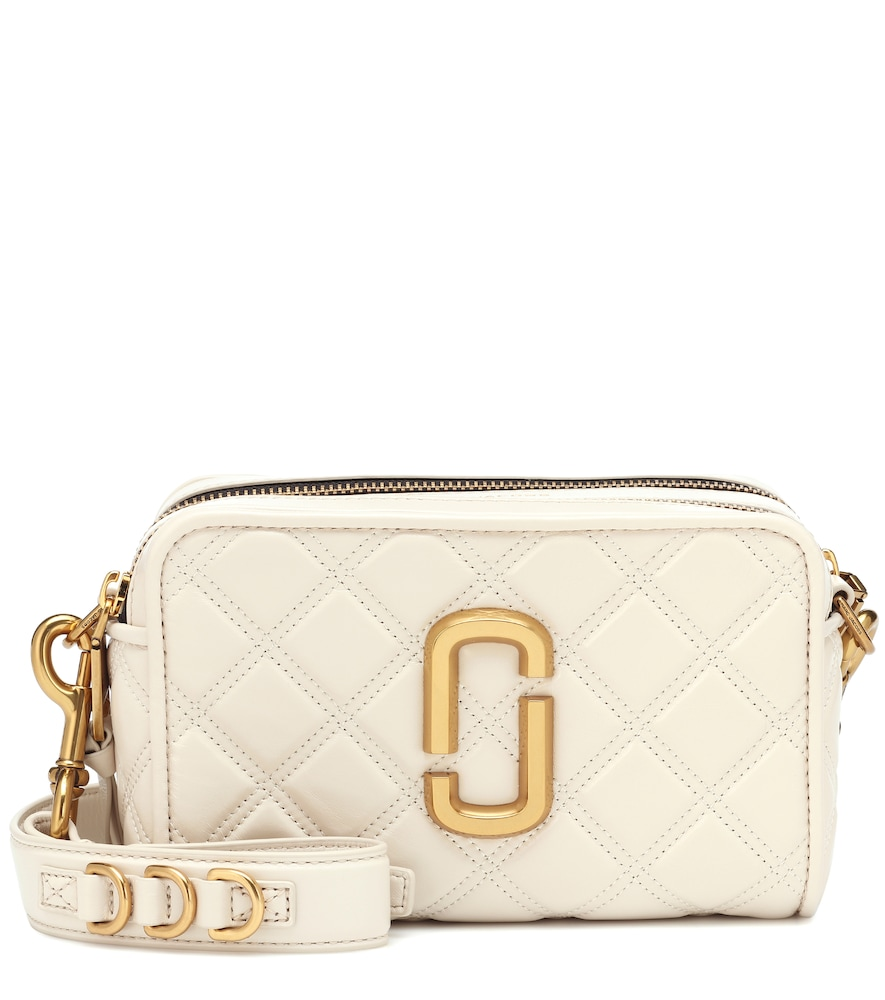 Marc Jacobs adds a luxe touch to the iconic Softshot bag by rendering it from artfully quilted leath