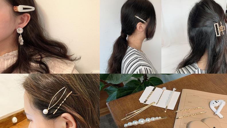 妹子們都在戴的「韓系復古髮夾」再不買就落伍啦!
