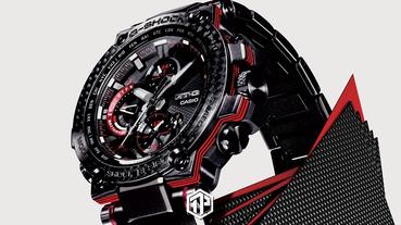 G-SHOCK 推出奢華 MT-G 腕錶系列!
