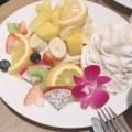 トロピカルフルーツ - 実際訪問したユーザーが直接撮影して投稿した西新宿パンケーキハワイアンパンケーキファクトリー 新宿ミロード店の写真のメニュー情報