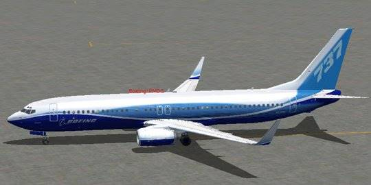 Boeing 737-800NG. ©blogspot.com