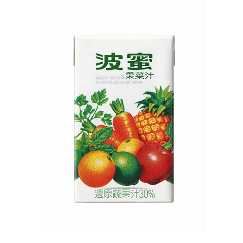 ◆ 波蜜果菜汁將邁入31個年頭,歷年來它就像一個關心健康的朋友般,一直深植大眾心理,成為外食族群營養均衡健康飲品的不二選擇。 商品名稱 : 波蜜果菜汁250ml*6入 品牌 : 波蜜 商品種類 : 果