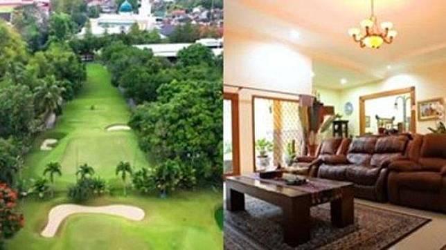 Rumah dan lapangan golf Ovi Dian