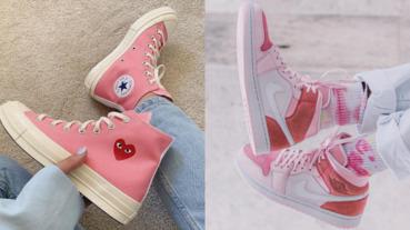 穿粉紅色也能照樣酷!精選 4 雙「粉系帥鞋」再酷的女鞋頭都會愛!女網友:這個粉我可以️