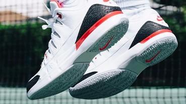 "Nike Zoom Vapor Tour AJ3 ""Fire Red"" 費德勒網球鞋實穿照,美國網球公開賽亮相!"