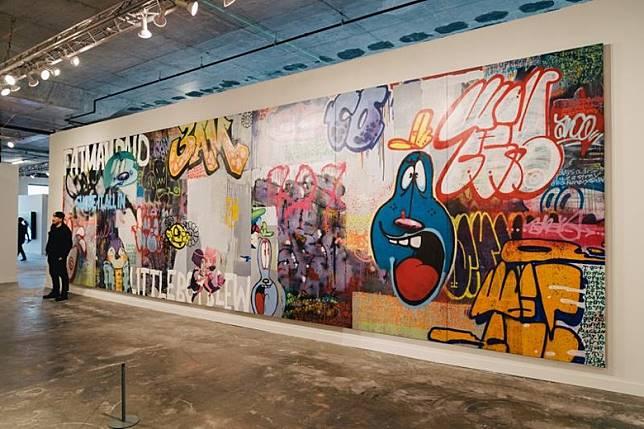 街頭藝術展找來約150位街頭藝術家,還有紀錄片攝影師與社會觀察者,分享過去塗鴉文化的經典事件與照片,介紹紐約塗鴉藝術的誕生及演變。(互聯網)