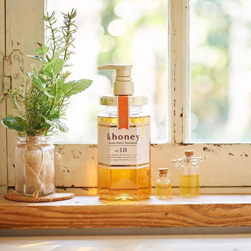 蜂蜜亮澤基礎保養組(洗髮乳+謢髮乳)