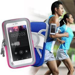 AISURE Apple iPhone 7 Plus 5.5 吋以下透氣手機觸控運動臂套臂袋