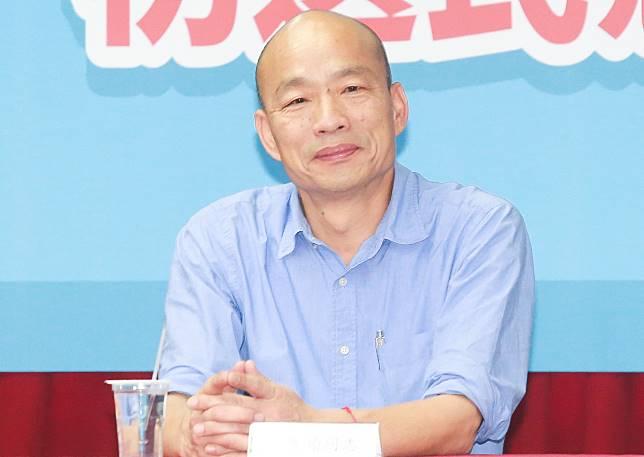 ▲國民黨總統初選確定由韓國瑜出線。(圖/記者葉政勳攝