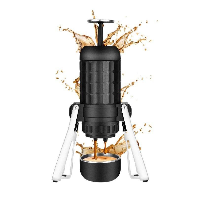 產品特色 隨行 免充電 露營/旅行超方便 容量升級 變大杯 豐厚的黃金泡沫(crema) 金屬腳架穩固支撐 好施力 拆解式設計 清潔好保養 產品介紹 隨時都能來一杯香濃咖啡 免用電的手動咖啡機只需要有