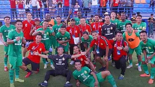 Berkat Gol Ezechiel N'Douassel, Bhayangkara Juara Super Asia Cup 2020