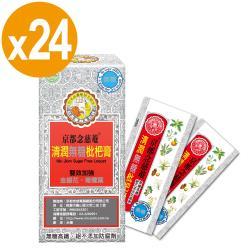 【京都念慈菴】清潤無糖枇杷膏-換季調養組(4包/盒)x24盒