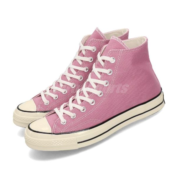 Converse Chuck Taylor All Star 70 粉紅 高筒 米白仿舊 奶油底 基本款 男鞋 女鞋【PUMP306】 164947C