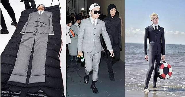 台灣買得到了!「灰色西裝」露營穿、潛水穿 還要學GD這麼穿