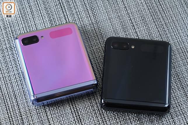 備有鏡面黑、鏡面紫兩色。(方偉堅攝)