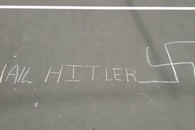 Bikin Coretan Gambar Swastika Dan Tulisan Hail Hitler Bocah 12