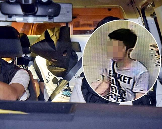 案發後數日警方將疑犯被捕。資料圖片