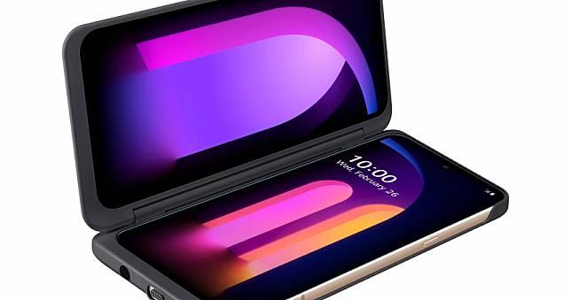 5G手機又多一款 LG雙螢幕3月全球開賣
