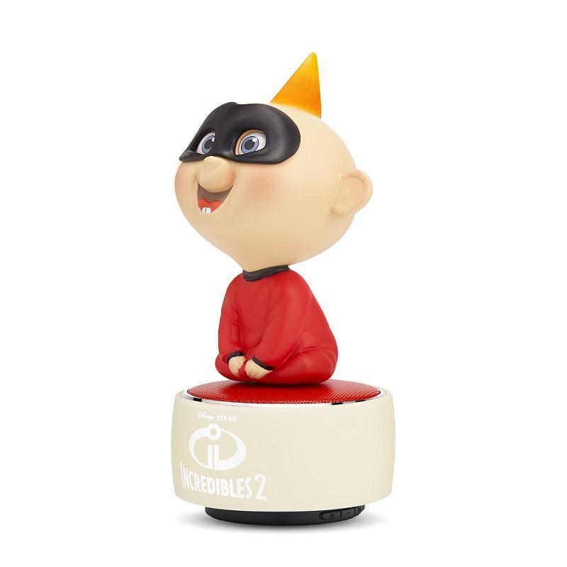 迪士尼Jack-Jack公仔玩音樂藍牙燈光喇叭