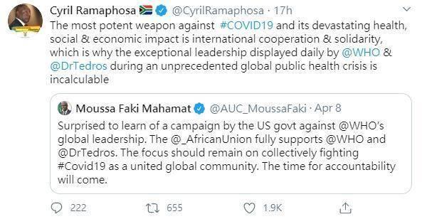 譚德塞指控「種族歧視」獲非洲各國力挺 網揭真相:這招很有效