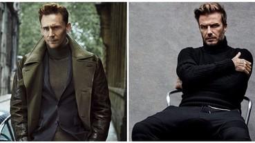 宅男範兒的高領毛衣,這樣搭才能變身型男