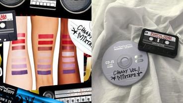 M.A.C X Jeremy Scott 重磅聯名!推出 3 款「潮翻懷舊彩盤」 小編:唇彩 CP 值破表,完整收入經典色啊...