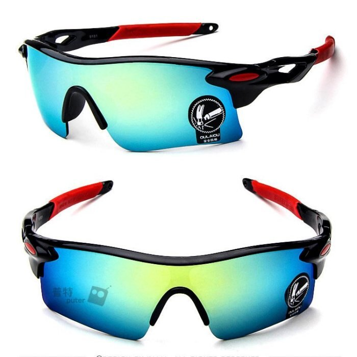 騎行護目鏡 炫彩太陽眼鏡 防眩眼鏡 防紫外線 時尚炫彩護目鏡
