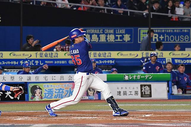 世界棒球12強,中華隊捕手高宇杰。(圖/記者葉政勳攝 )